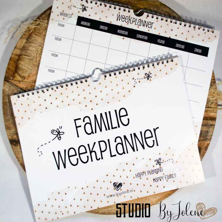 FAMILIE WEEKPLANNER || HAPPY PLANNING HAPPY WEEK || A4