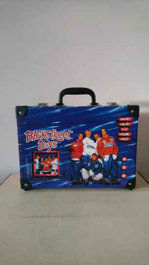 Backstreet Boys BSB koffertje 1997 suitcase