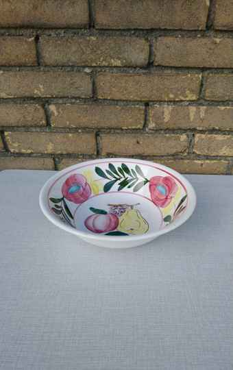 Vintage fruitschaal keramiek / ceramic fruit bowl