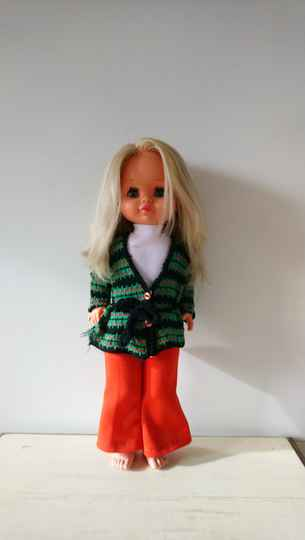 Vintage pop 3 M of MMM 1200/46 jaren 70 doll