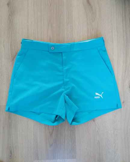 Vintage Puma high waisted korte tennis broek shorts - maat s