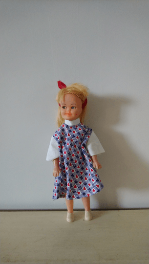 Vintage meisjes pop Japan girl doll