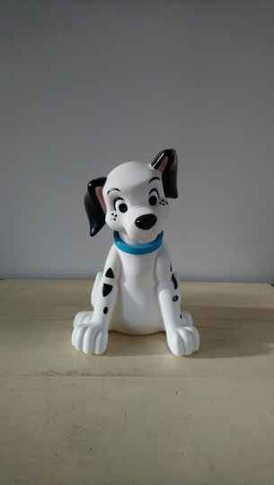 Disney's 101 dalmatiërs figuur met badschuim 101 Dalmatians figure filled with bubble bath