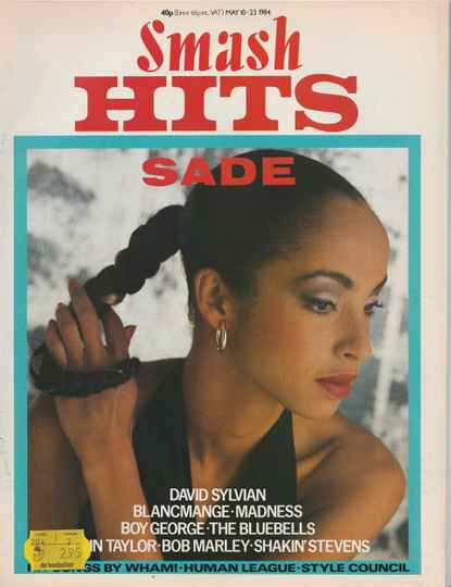 Smash Hits 10 may - 23 may 1984