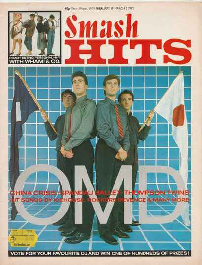 Smash Hits 17 february - 2 march 1983