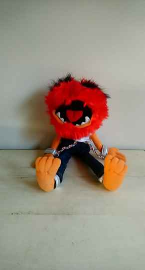 "The Muppets knuffel pluche ""Animal"""