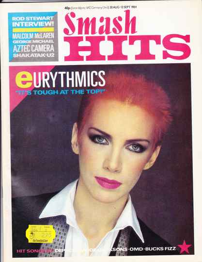 Smash Hits 30 augustus - 12 september 1984
