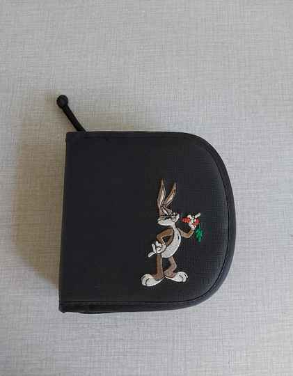 Bugs Bunny cd map opberger etui Looney Tunes 1998