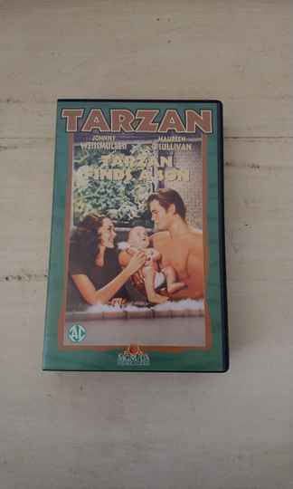 VHS Tarzan finds a son