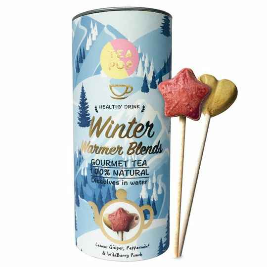 TEA On-A-Stick! Gourmet Tea Winter Warmer