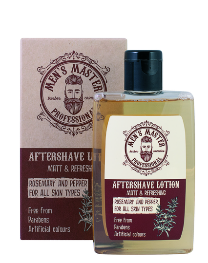 BARBER COSMETICS aftershave lotion - 120ml