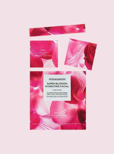 VITAMASQUES SUPER BLOSSOM HYDRATING FACIAL