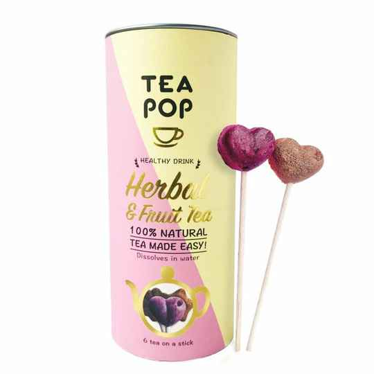 TEA On-A-Stick! Gourmet Tea Herbal & Fruit