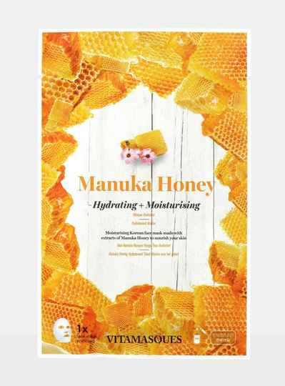 VITAMASQUES MANUKA HONEY SHEET FACE MASK