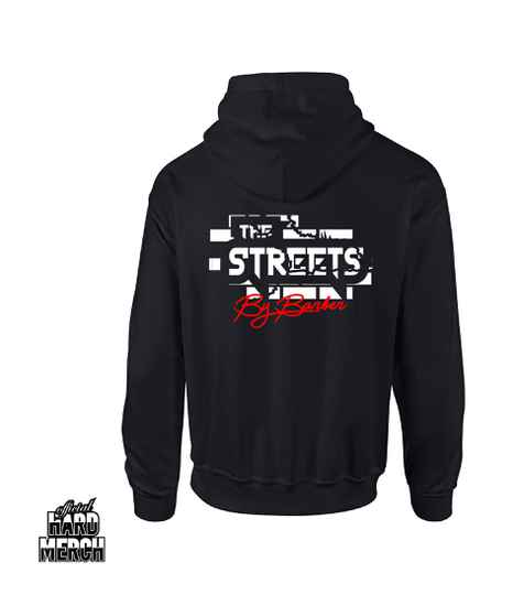 Barber in the Street hoodie