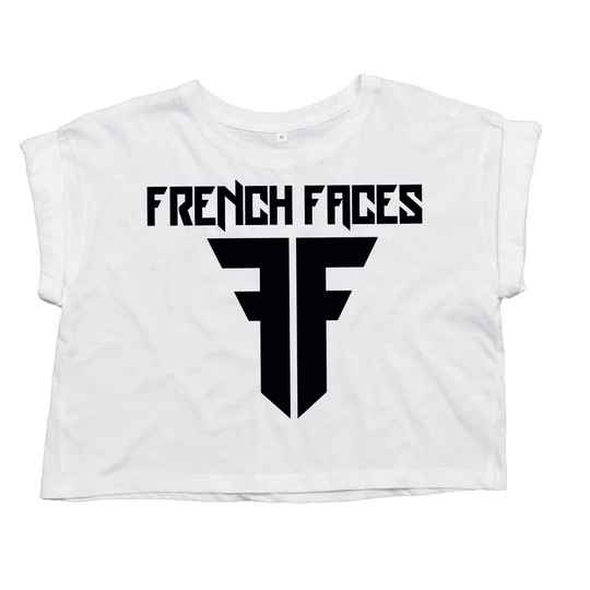French faces croptop