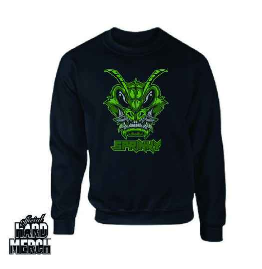 Sprinky 101 Green Logo Sweater
