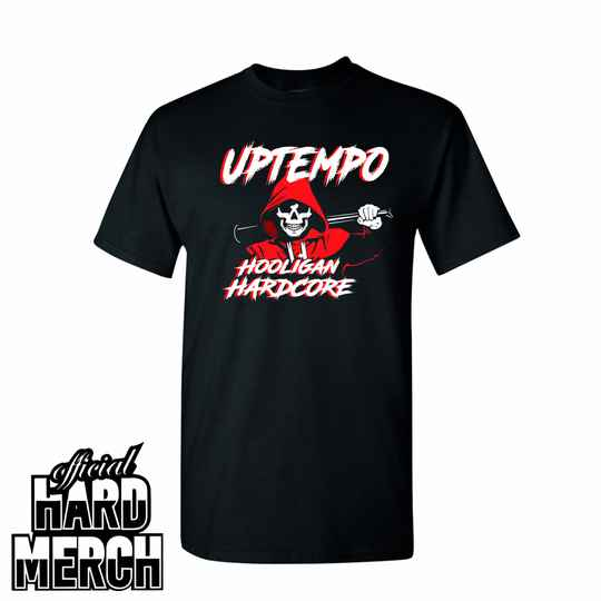 Hooligan hardcore bat - t shirt