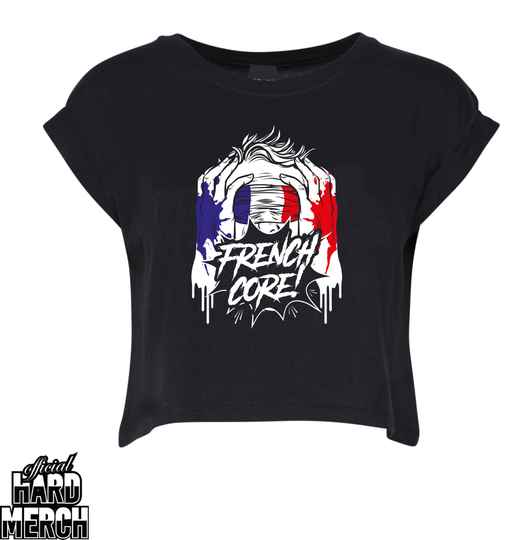 Screaming frenchcore croptop