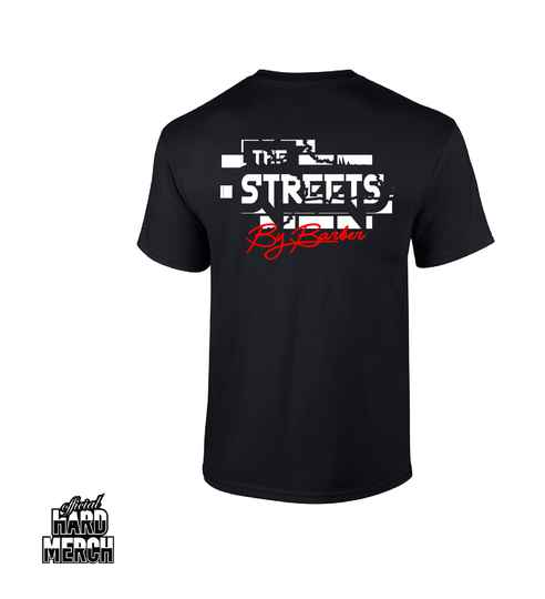 Barber The Streets t-shirt