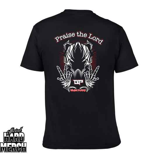 Basspunkz Praise the Lord T-shirt