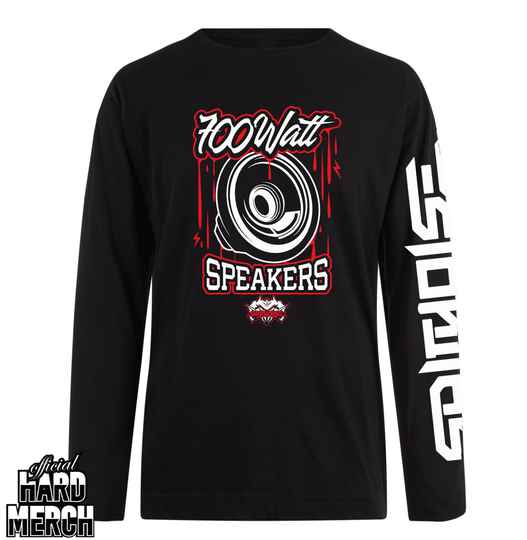 Spitnoise 700 Watt Speakers longsleeve