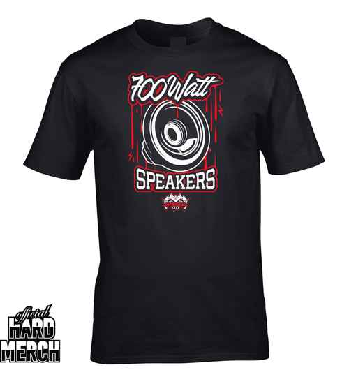 Spitnoise 700 Watt Speakers t-shirt