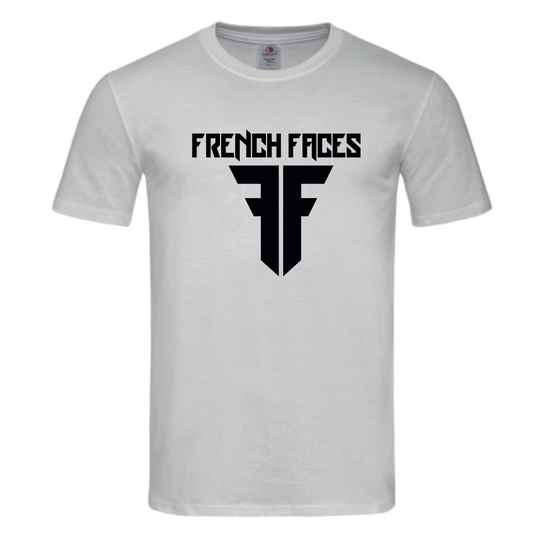 French faces white shirt