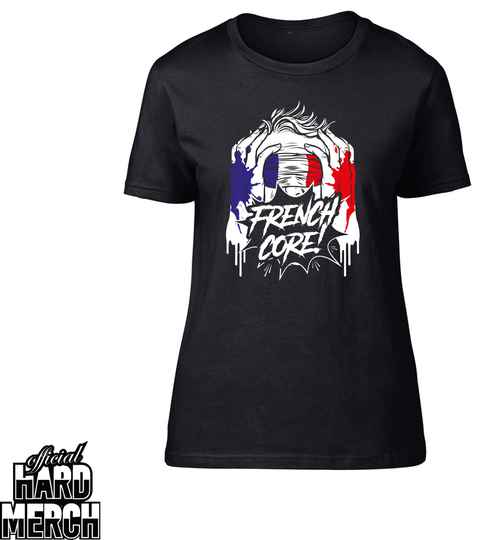 Screaming Frenchcore dames t-shirt