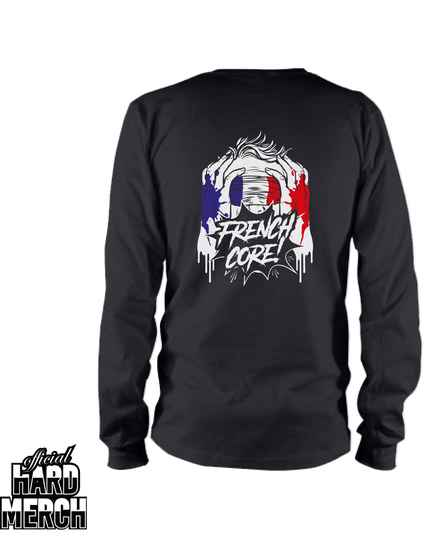 Screaming Frenchcore longsleeve