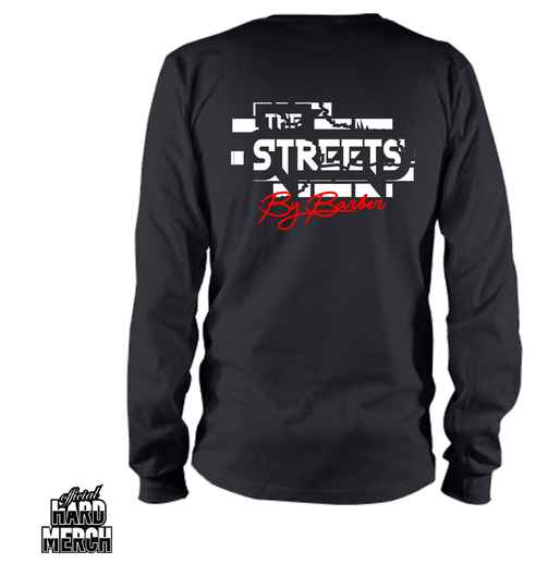Barber in the street longsleeve