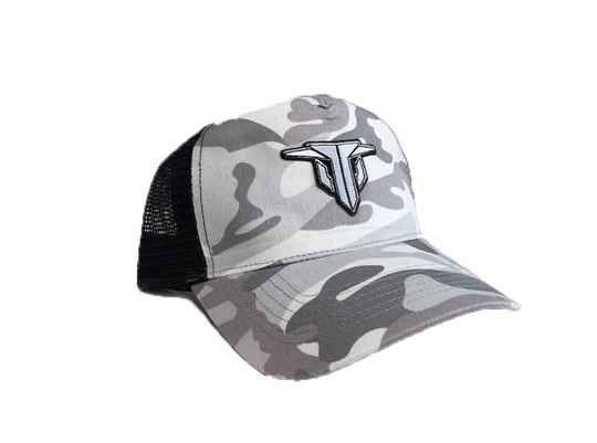 Trespassed Truckercap camo wit