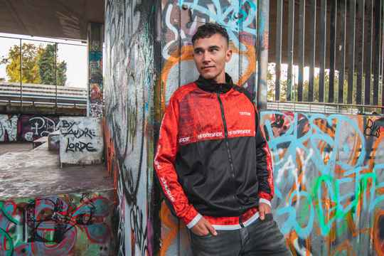 Cryogenic Track Jacket RED *PRE SALE*