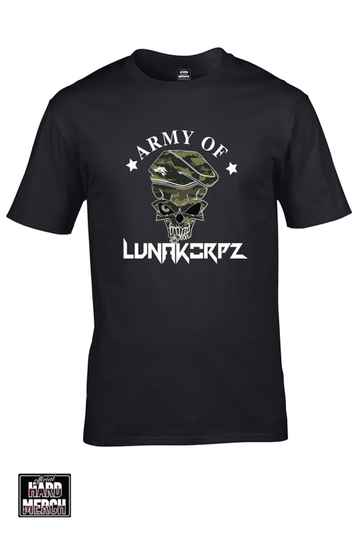 Army of Lunakorpz men t-shirt