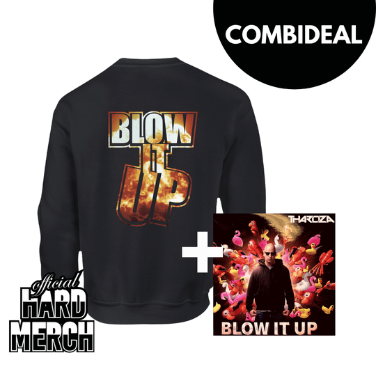 Tharoza - Blow it up Combideal Sweater