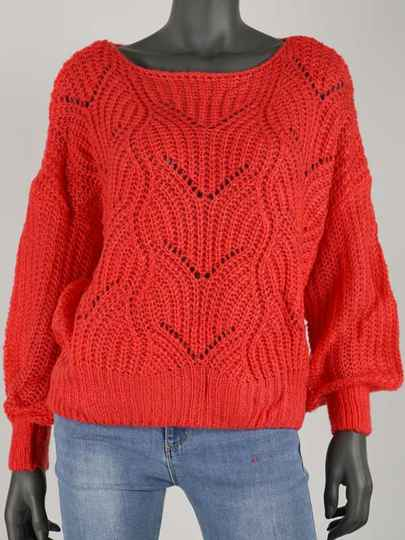 MINOES SWEATER RED