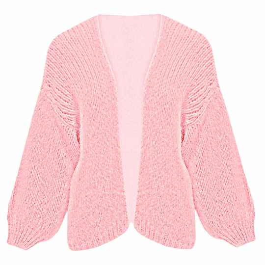 YME CARDIGAN LIGHT PINK