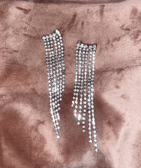 CLAIRE EARRINGS SILVER
