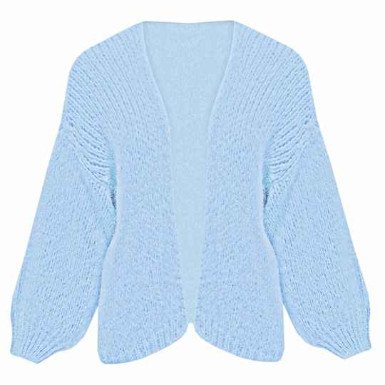 YME CARDIGAN BLUE