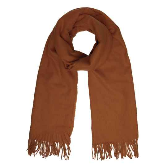 MAYA SCARF BROWN