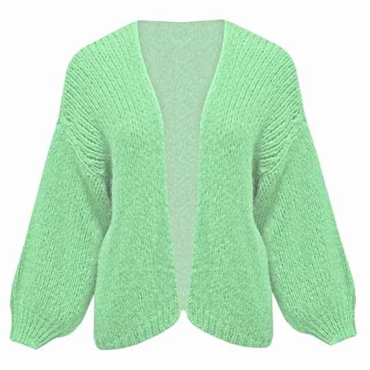 YME CARDIGAN GREEN