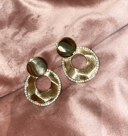 JENNI EARRINGS GOLD