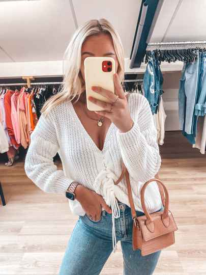 LILY SWEATER WHITE