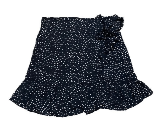 SAM DOTS SKIRT BLACK