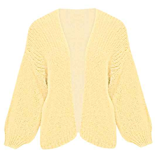 YME CARDIGAN YELLOW