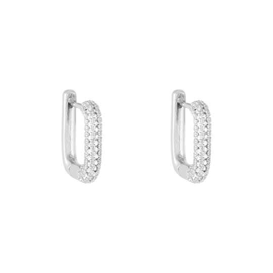 SHARON EARRINGS SILVER