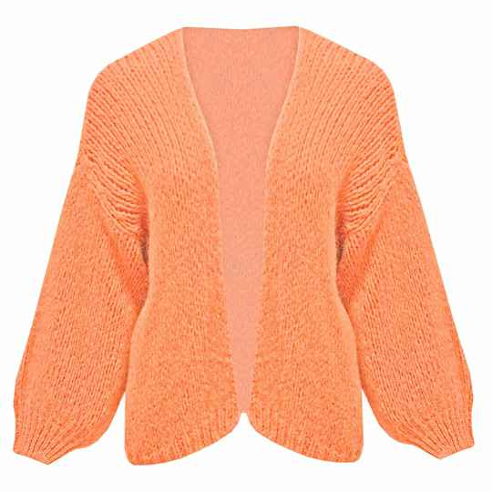 YME CARDIGAN ORANGE