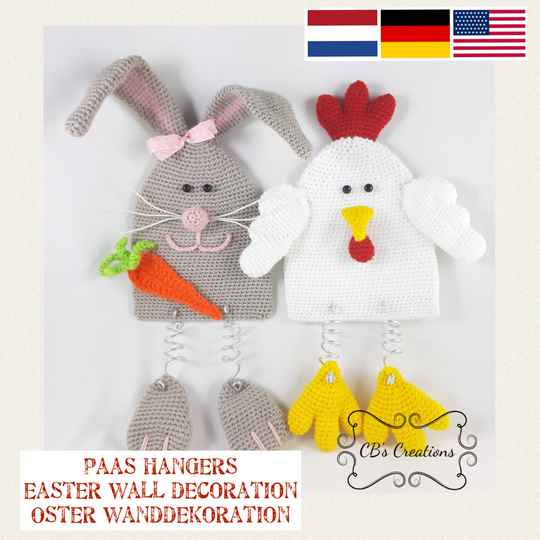 Paashangers - Easter Wall Decoration, PDF