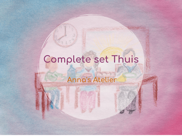 Complete set ' Thuis'