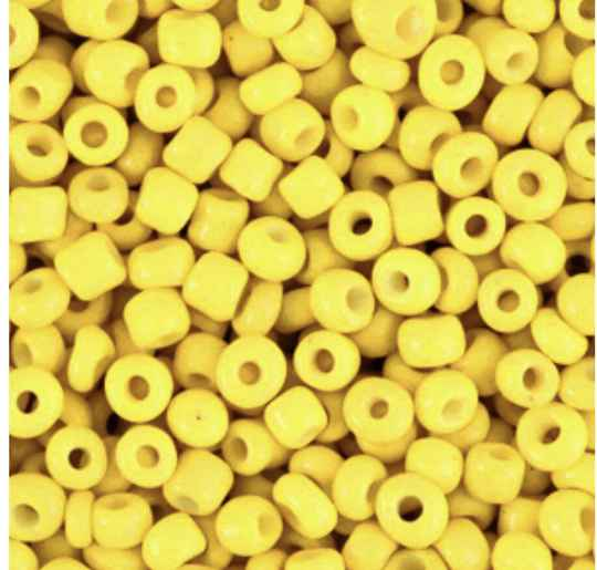 Rocailles 3mm Cyber yellow
